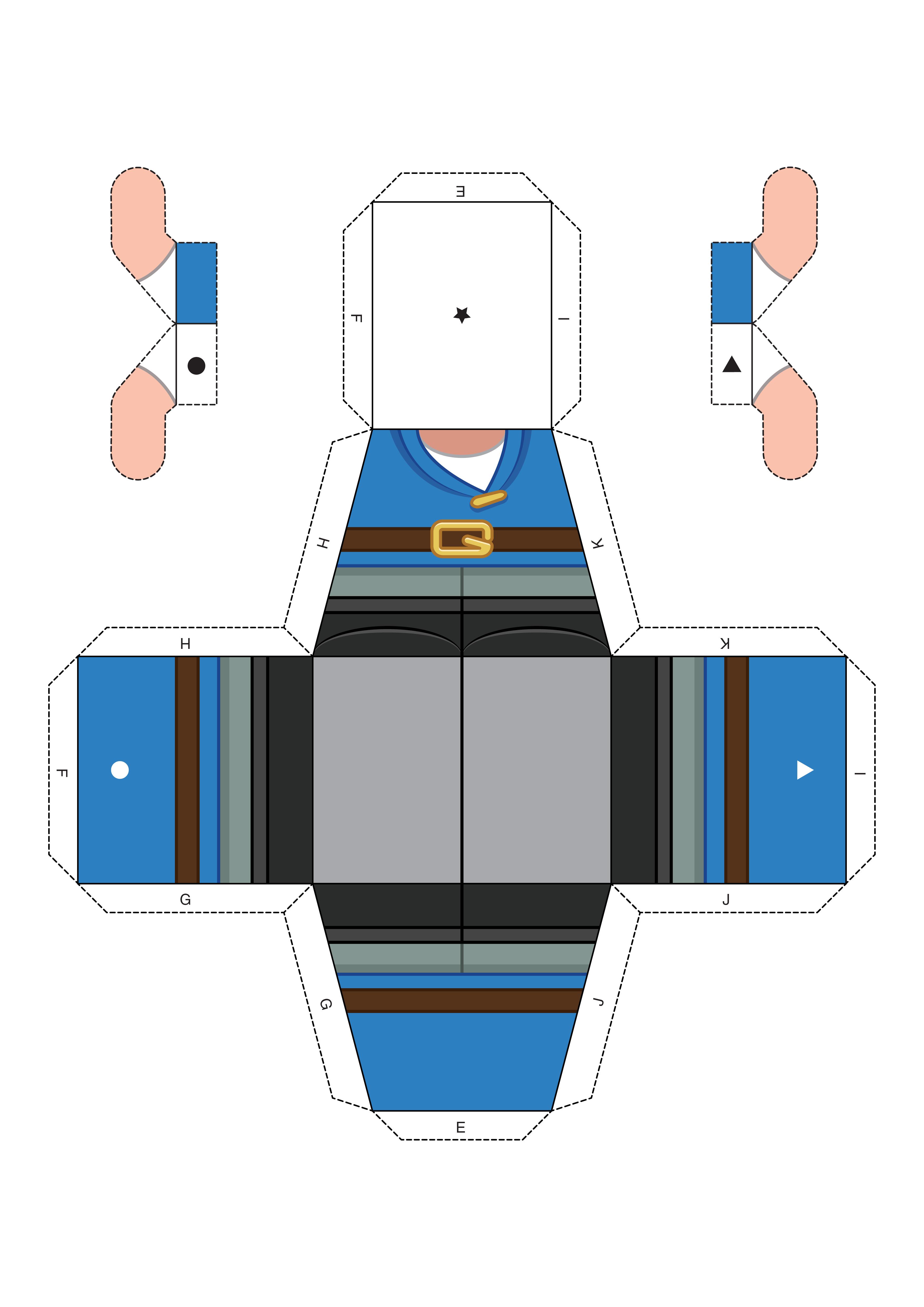 Sherlock Gnomes : papercraft GNOMEO