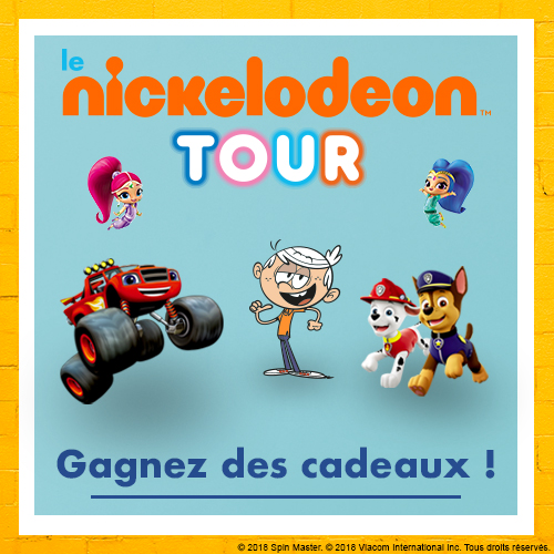 Concours Nickelodeon