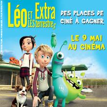 Des places de cinéma à gagner pour LEO ET LES EXTRATERRESTRES !