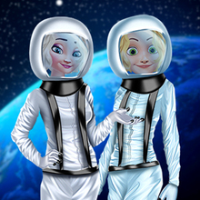 Jeu : Princess Space Suit