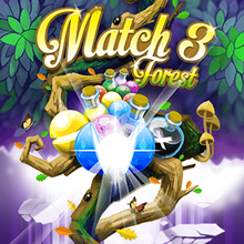 Jeu : Match 3 Forest