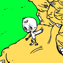 Coloriage : L'envol de Ploé