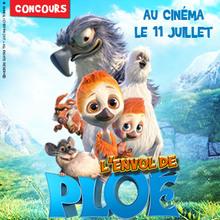 Gagne des places de ciné et plein de cadeaux du film L'envol de Ploé !