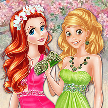 Jeu : Colors of Spring Princess Gowns