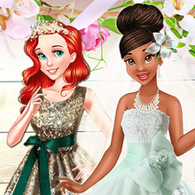 Jeu : Tiana Spring Green Wedding
