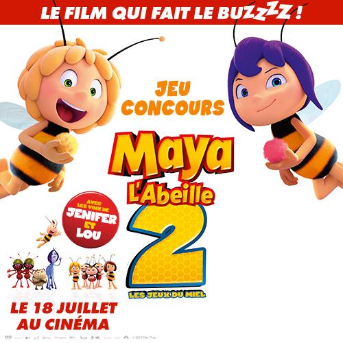 Gagne des places de cinéma pour Maya l'abeille 2 !