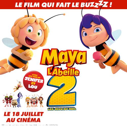 Bande annonce Maya l'abeille