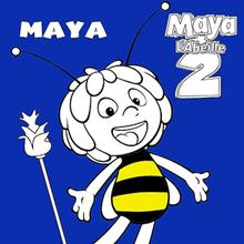 Coloriage : Maya l'abeille