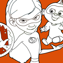 Coloriages Les Indestructibles 2 Fr Hellokids Com