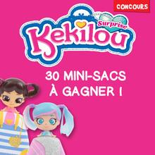 Gagne des mini-sacs Kekilou avec Giochi Preziosi !