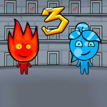 Jeu : Fireboy & Watergirl: Ice Temple