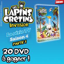 Gagne des DVD des Lapins Crétins !