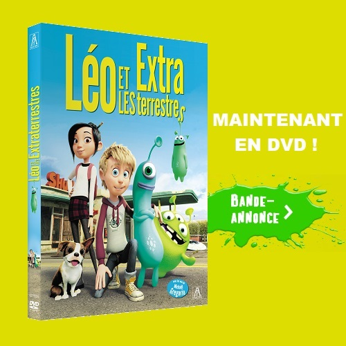 DVD Leo et les extraterrestres