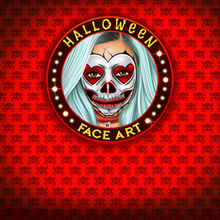 Jeu : Models Halloween Face Art