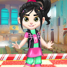 Jeu : Vanellope Princess Makeover