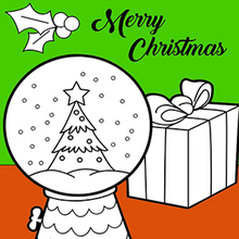 Coloriage : Cadeaux de Noël