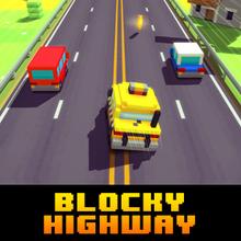 Jeu : Blocky Highway