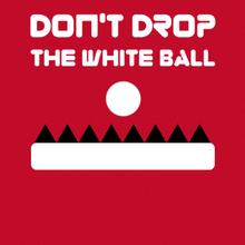 Jeu : Don't Drop The White Ball