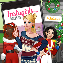 Jeu : Instagirls Christmas Dress Up