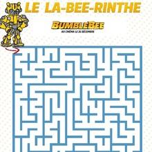 Jeu de labyrinthe BUMBLEBEE