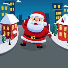 Jeu : Santa City Run