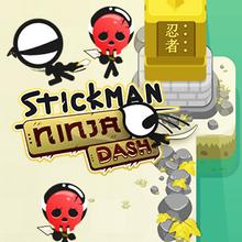 Jeu : Stickman Ninja Dash
