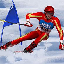 Jeu : Slalom Ski Simulator