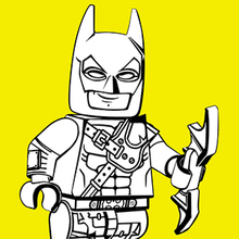 Coloriage de Batman