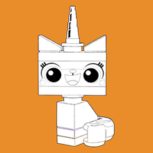 Coloriage de Unikitty