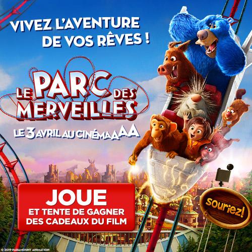 Gagne des places de cinéma pour LE PARC DES MERVEILLES !