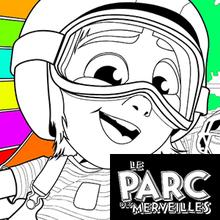 Coloriage LE PARC DES MERVEILLES