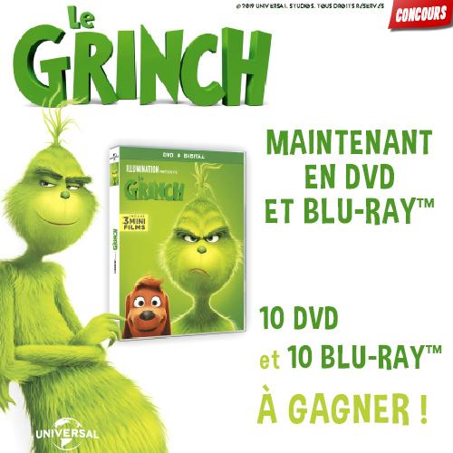 Gagne des DVD du Grinch !