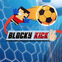 Jeu : Blocky Kick 2