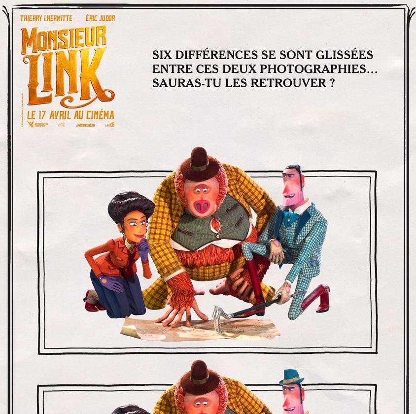 Jeux Monsieur Link