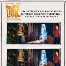 Jeu des différences MONSIEUR LINK n°3