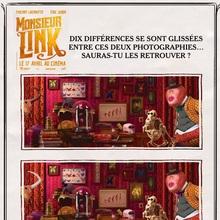 Jeu des différences MONSIEUR LINK n°2