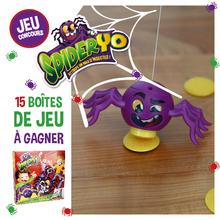 Gagne des boites de jeu SpiderYo !