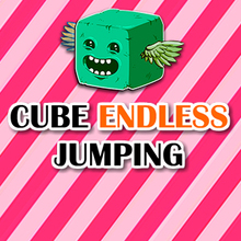 Jeu : Cube Endless Jumping