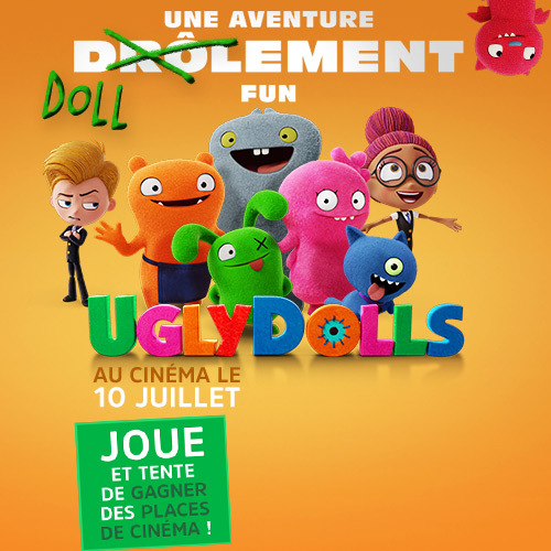 Concours Ugly Dolls