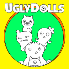 Coloriage : Ugly Dolls 1