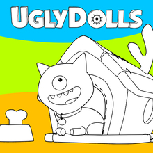 Coloriage : Ugly Dolls 2