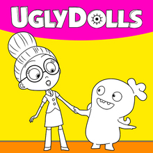 Coloriage : Ugly Dolls 3