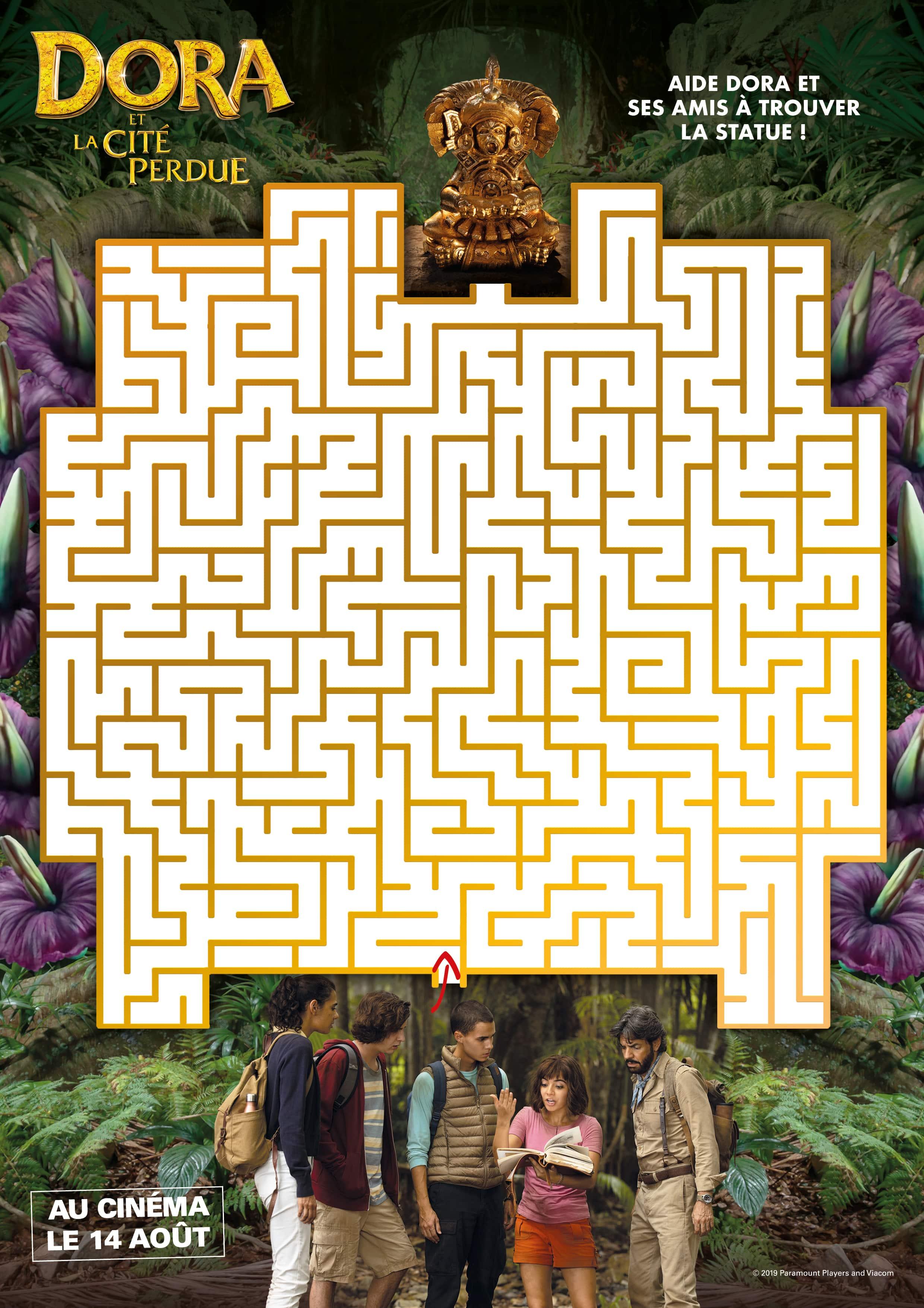 Labyrinthe Dora et la cité perdue n°1