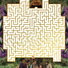 Jeu de labyrinthe DORA ET LA CITE PERDUE