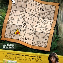Jeu : Sudoku DORA ET LA CITE PERDUE