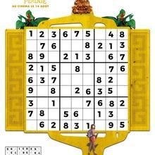 Jeu : Sudoku DORA ET LA CITE PERDUE n°2