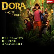 Gagne des places de cinéma pour Dora et la cité perdue !