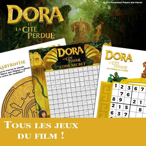 Jeux Dora et la cité perdue