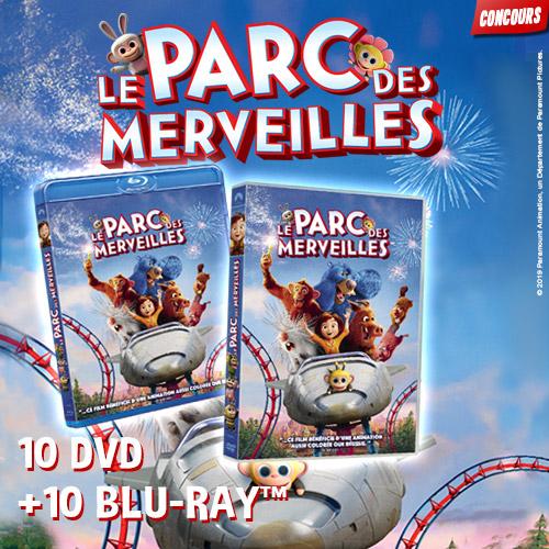 Gagne des DVD LE PARC DES MERVEILLES !