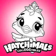 Coloriages Coloriage Hatchimals Fr Hellokids Com